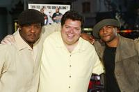 Blair Underwood, Director John Whitesell and Damien Wayans at the premiere of
