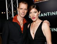 Doug Jones and Jennifer Carpenter at the premiere of