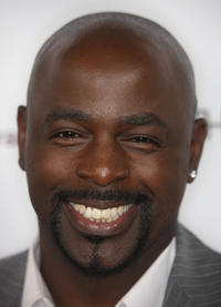 Alimi Ballard at the California premiere of