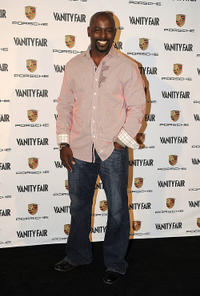 Alimi Ballard at the Porsche & Vanity Fair Launch of Porsche's Panamera in California.