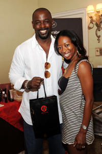 Alimi Ballard and Dawn Ballard at the DPA pre-Emmy Gift Lounge in California.