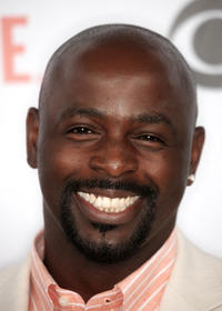 Alimi Ballard at the CBS, CW, CBS Television Studio and Showtime TCA party in California.