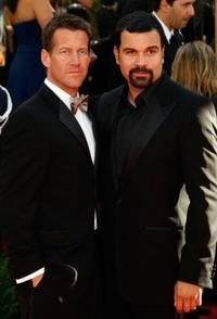 James Denton and Ricardo Antonio Chavira at the 64th Annual Golden Globe Awards.