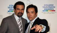 Ricardo Antonio Chavira and Benito Martinez at the 30th Annual College Television Awards.