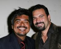 George Lopez and Ricardo Antonio Chavira at the seventh Annual El Sueno De Esperanza Gala.