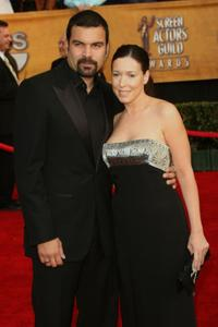 Ricardo Antonio Chavira and Guest at the 13th Annual Screen Actors Guild Awards.