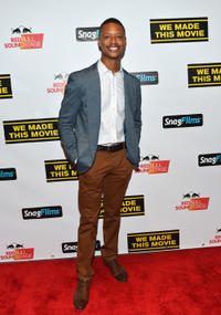 Arjay Smith at the world premiere of