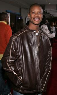 Arjay Smith at the premiere of