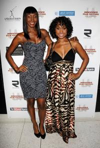 Tanjareen Martin and Angell Conwell at the