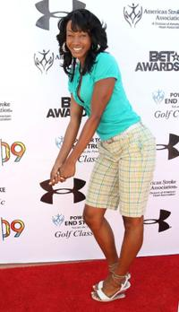 Tanjareen Martin at the 2009 BET Awards' 3rd Annual Power To End Stroke Celebrity Golf Tournament.