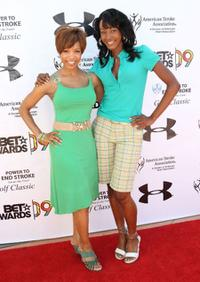 Elise Neal and Tanjareen Martin at the 2009 BET Awards' 3rd Annual Power To End Stroke Celebrity Golf Tournament.