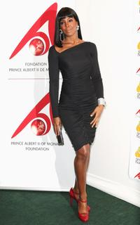 Kelly Rowland at the Benefit for the Prince Albert of Monaco Foundation during the 61st International Cannes Film Festival.