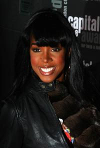Kelly Rowland at the Capital Awards 2008.
