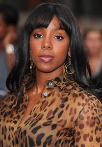Kelly Rowland at the Lotus