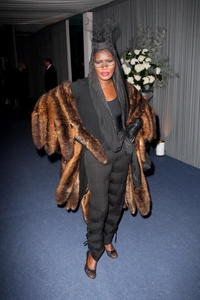 Grace Jones at the after party of the premiere of