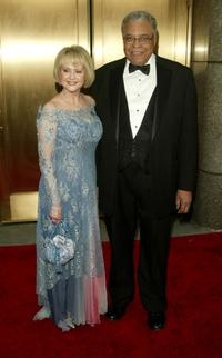 James Earl Jones and his wife Cici Jones at the 59th Annual Tony Awards.