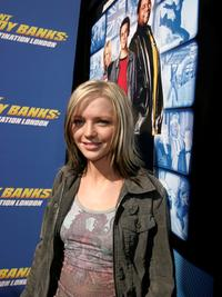 Hannah Spearritt at the Los Angeles premiere of