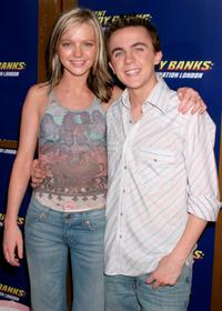 Hannah Spearritt and Frankie Muniz at the Los Angeles premiere of