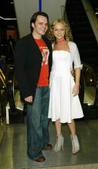 Paul Cattermole and Hannah Spearritt at the UK premiere of
