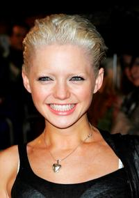 Hannah Spearritt at the world premiere of