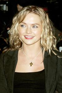 Hannah Spearritt at the UK premiere of