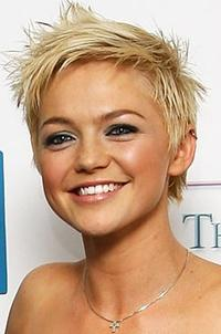 Hannah Spearritt at the British Soap Awards 2008.