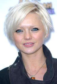 Hannah Spearritt at the Miley Cyrus concert.
