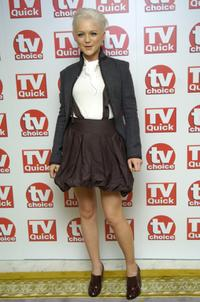 Hannah Spearritt at the TV Quick and TV Choice Awards.