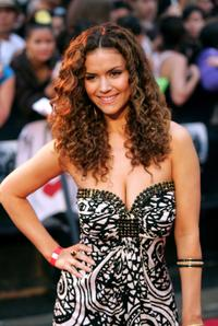 Lisa Marcos at the 2008 Muchmusic Video Awards.