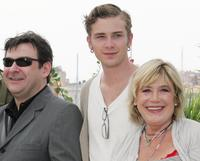 Paul Putner, Elias McConnell and Marianne Faithfull at the photocall of