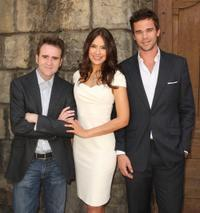 Christopher Moynihan, Sophie Winkleman and David Walton at the Meet The Stars Of NBC's New Shows.