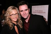 Rachael Harris and Christopher Moynihan at the Los Angeles premiere of