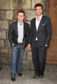 Christopher Moynihan and David Walton at the Meet The Stars Of NBC's New Shows.
