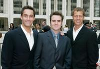 Jay Harrington, Christopher Moynihan and Colin Ferguson at the