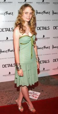 Halley Wegryn-Gross at the after party of the opening night of