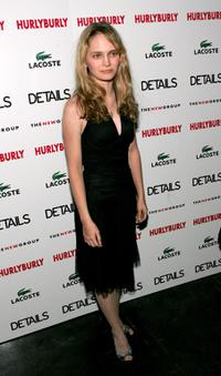 Halley Wegryn-Gross at the opening night party of