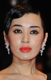 Yu Nan at the premiere of