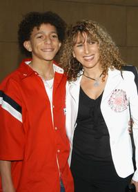 Khleo Thomas and Racquel at the premiere of