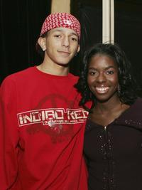 Khleo Thomas and Camille Winbush at the 100th episode party