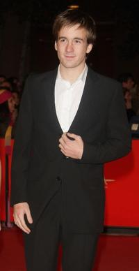 Gregoire Leprince-Ringuet at the premiere of