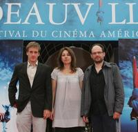 Gregoire Leprince-Ringuet, Valerie Benguigui and Denis Podalydes at the premiere of