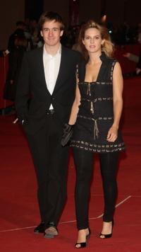 Gregoire Leprince-Ringuet and Elodie Navarre at the premiere of