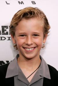 Cayden Boyd at the premiere of
