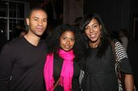Chad Goodridge, Rebecca Jones and De'Adre Aziza at the Park City Opening Night party during the 2009 Sundance Film Festival.