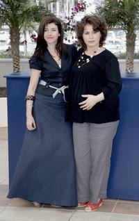 Ebru Ceylan and Nazan Kesal at the photocall of