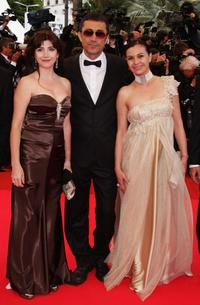 Ebru Ceylan, Nuri Bilge Ceylan and Nazan Kesal at the 61st International Cannes Film Festival.