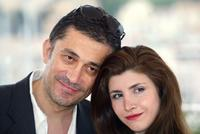 Nuri Bilge Ceylan and Ebru Ceylan at the photocall of
