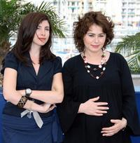 Ebru Ceylan and Nazam Kirilmis at the photocall of