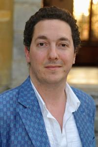 Guillaume Gallienne at the Prix Mont-Blanc de la Culture.
