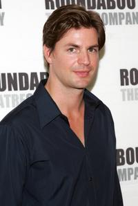 Gale Harold at the rehearsal of